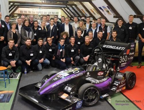 Formula Student Team Weingarten goes Driverless!